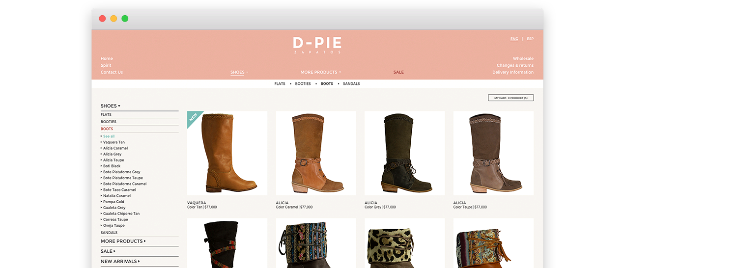 online shoes store