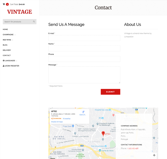 Contact Page